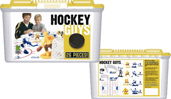 Plastic Hockey Guys