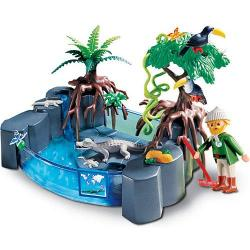 Playmobil Caiman Basin