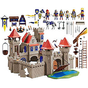 playmobil knights empire castle knights and castles play. Black Bedroom Furniture Sets. Home Design Ideas