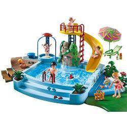 Playmobil Pool with Slide