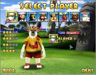 Polar Golfer Pineapple Cup