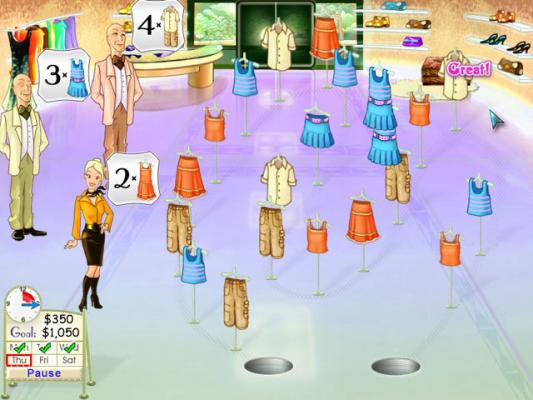 play free online shop games of dresses