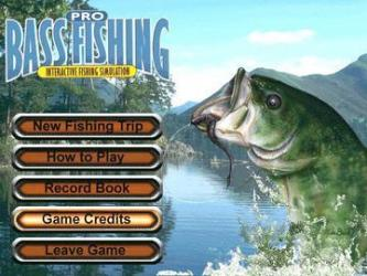 Pro bass fishing fishing game adventure where you choose for Lake fishing games
