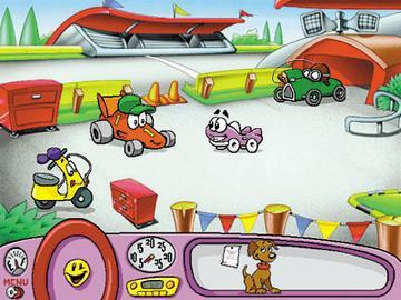 Putt Putt Enters The Race Cartoon Car Enters The Car Town
