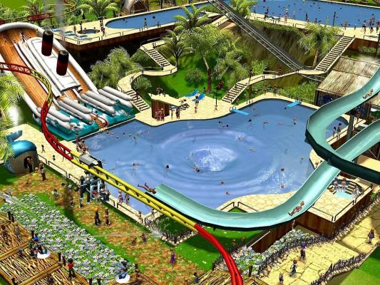 Waterparks play free online waterpark games waterparks for Kinderzimmer roller