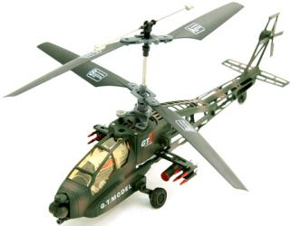 Remote Control AH-64 Apache Helicopter