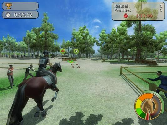 Horse Jumping 3D - Free Online Horse Game at horse-games.org