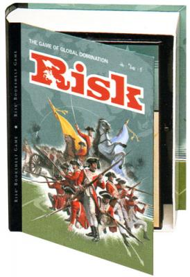 Risk Bookshelf Board Game Easy To Play Games In This Unique Package