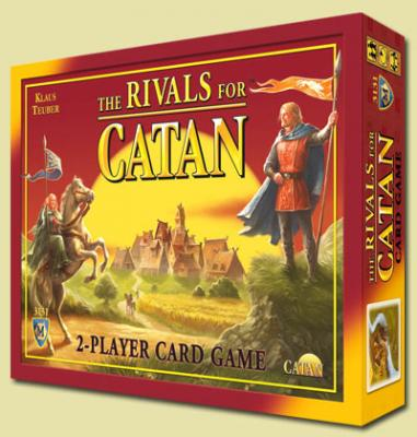Rivals for Catan 2 Player The Settlers of Catan card game.