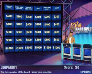 Rock and Roll Jeopardy