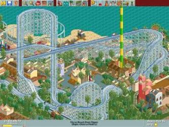 Roller Coaster Tycoon Loopy Landscape pack