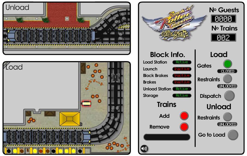 Play Free Rollercoaster Loading Passengers Simulator