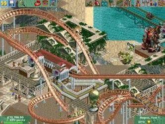 RollerCoaster Tycoon 2 plus Time Twister Pack
