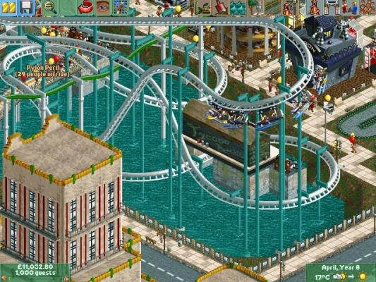RollerCoaster Tycoon 2 plus Time Twister Pack Get RCT2 with