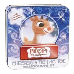 Rudolph Red Nosed Reindeer Checkers