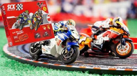 SCX Motorcycle Race Set