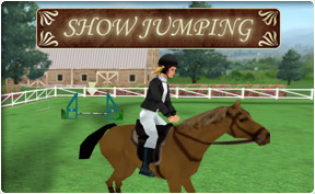 play free show jumping online games picture 1