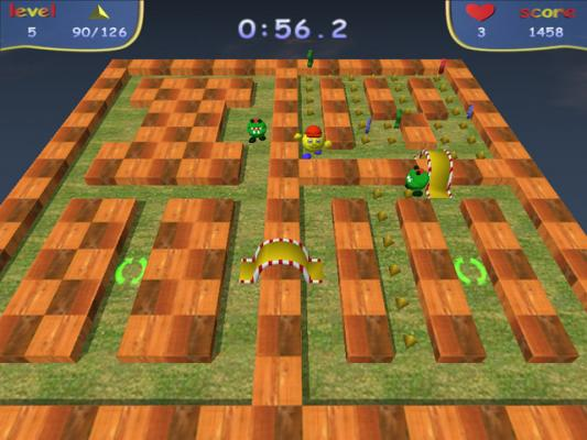 Skymaze 3d Maze Pac Man To Play With Awesome Graphics And