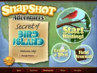 Snapshot Adventures Secret of Bird Island