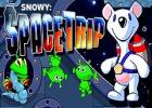 Snowy Space Trip