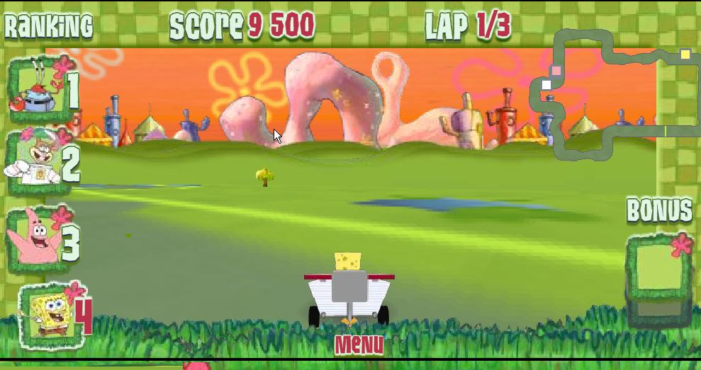 play free spongebob racing games online free