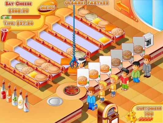 Fast Food Stand Games
