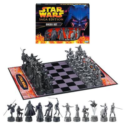 Star Wars Chess Star Wars Saga Edition Chess Set
