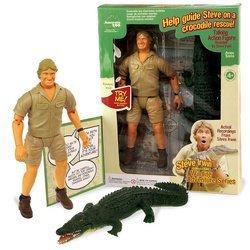 Steve Irwin Talking Crocodile