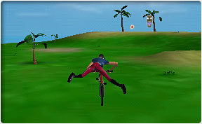Stunt Bike Island online game. Picture 1 - Picture ...