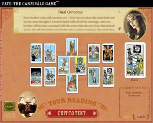 Tarot Fate The Carnivale game