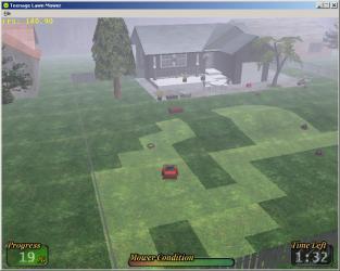 Teenage Lawn mower