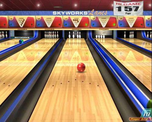 Ten Pin Bowling Championship 10 Pins Bowling Game