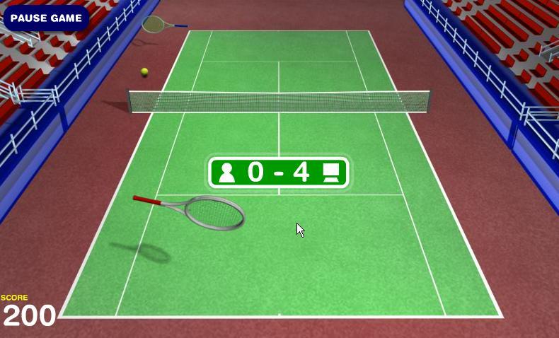 online games tennis