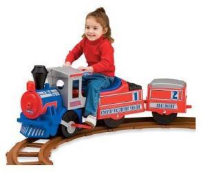 The Ride On Santa Fe Train