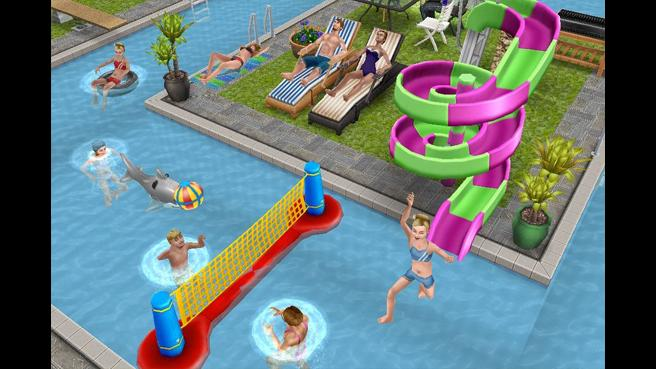 The sims play free online the sims games the sims game for Pool design sims 3