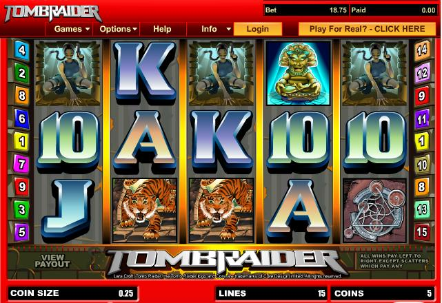 Play Free Tomb Raider And The Tigers Online Games