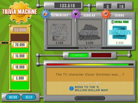 Trivial Pursuit Slot Machine - Play for Free Online