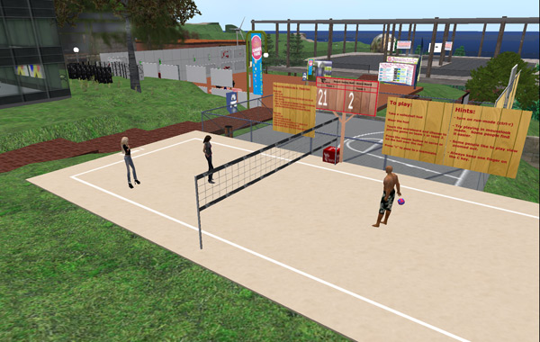 Play  TT Sports Volleyball Second Life online