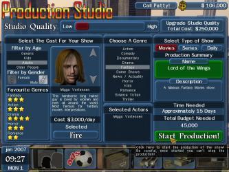 TV Manager Simulation