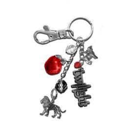 Twilight Lion and Lamb Keyring Bagclip