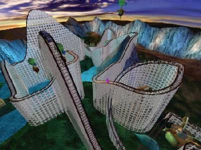 build a roller coaster online game