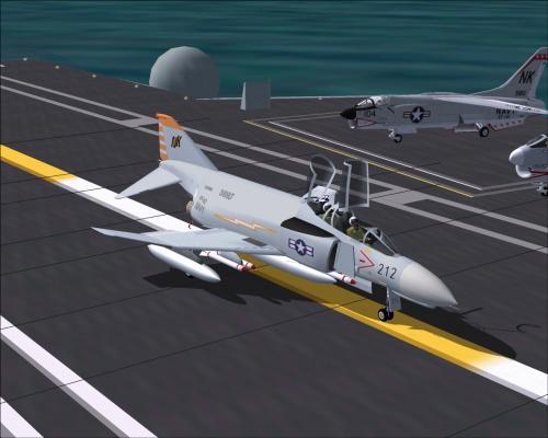 War games aircraft carrier