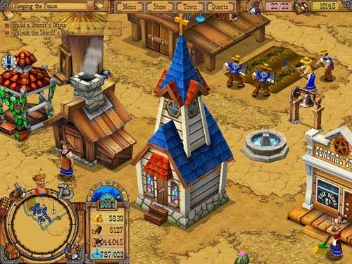 free online cowboy games