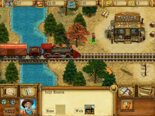 Westward Build A Wild West Town With Railroad Train