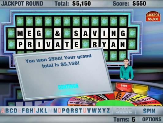 play wheel of fortune games for free