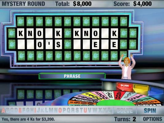 free wheel of fortune game online
