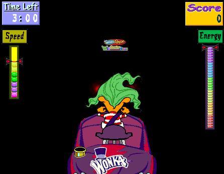 willy wonka roller coaster game online
