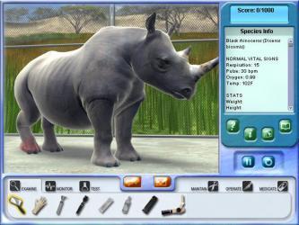Zoo Vet Rhino and Endangered Animals