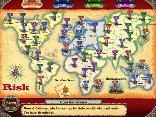 Play risk online